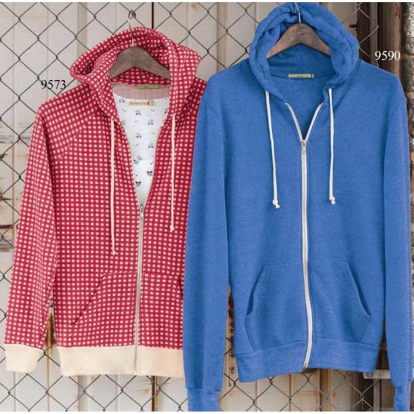 Alternative Rocky Unisex Eco Fleece Hooded Full Zip Sweatshi