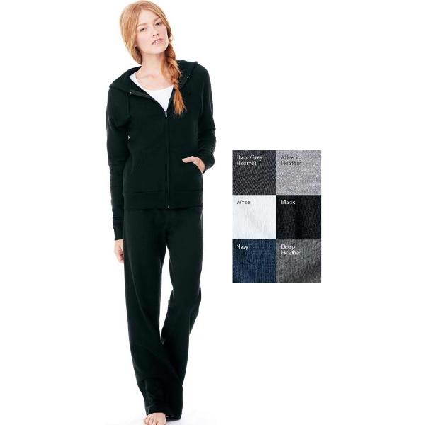 Bella + Canvas Ladies' Raglan Full-zip Hooded Sweatshirt