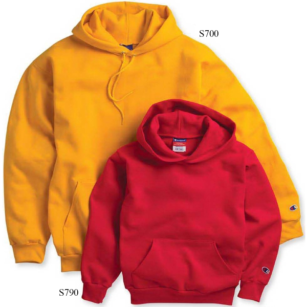 Champion (R) Eco (R) Youth Hooded Sweatshirt