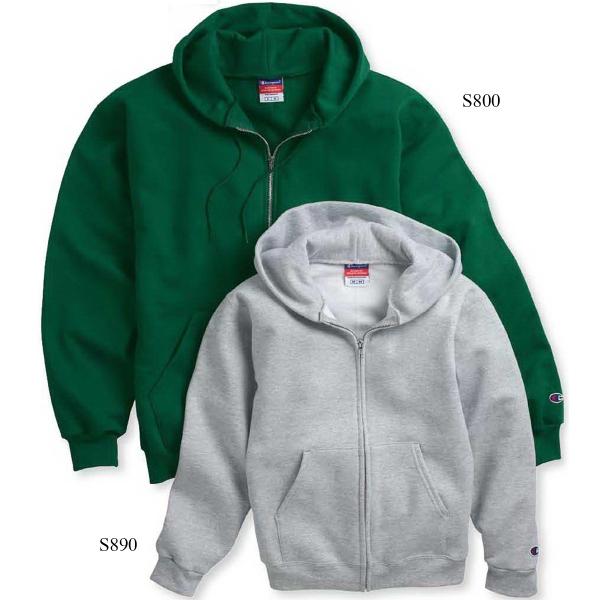 Champion (R) Eco (R) Youth Full-zip Hooded Sweatshirt