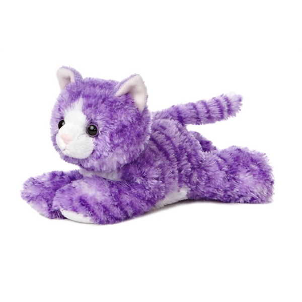 "8"" Purple Molly Kitty Cat"
