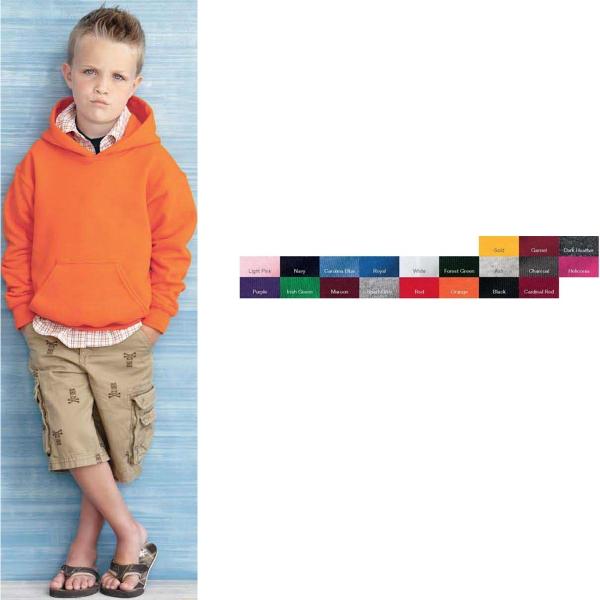 Gildan (R) Youth Heavy Blend (TM) Hooded Sweatshirt