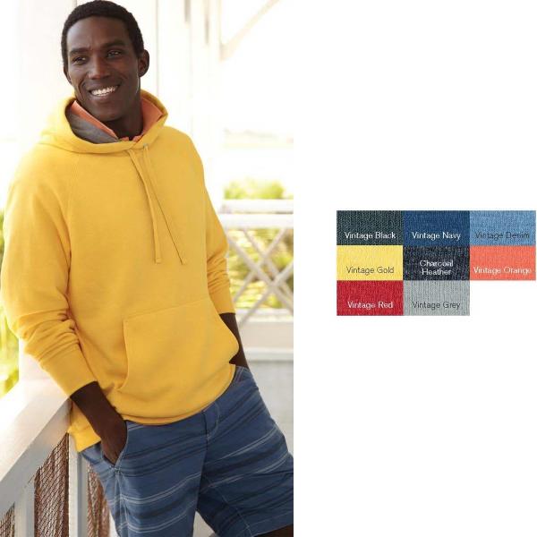 Hanes (R) Nano Fleece Hooded Pullover Sweat Shirt