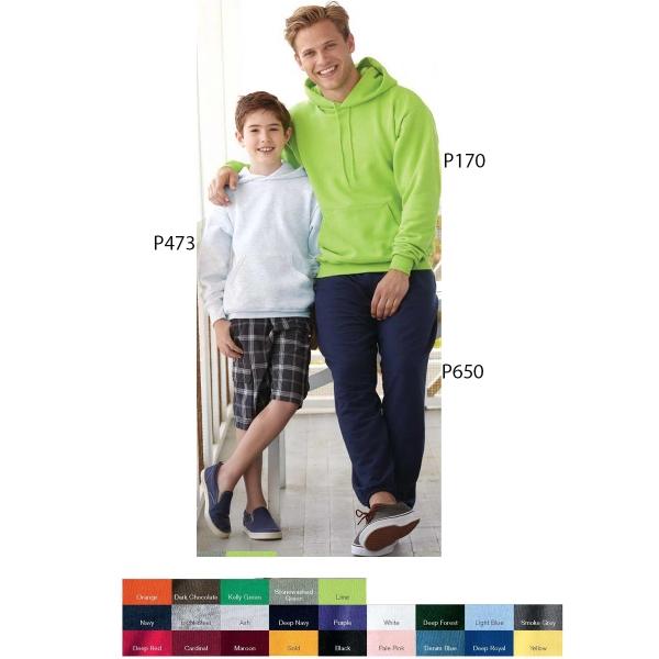 Hanes (R) ComfortBlend (R) EcoSmart (TM) Hooded Sweatshirt