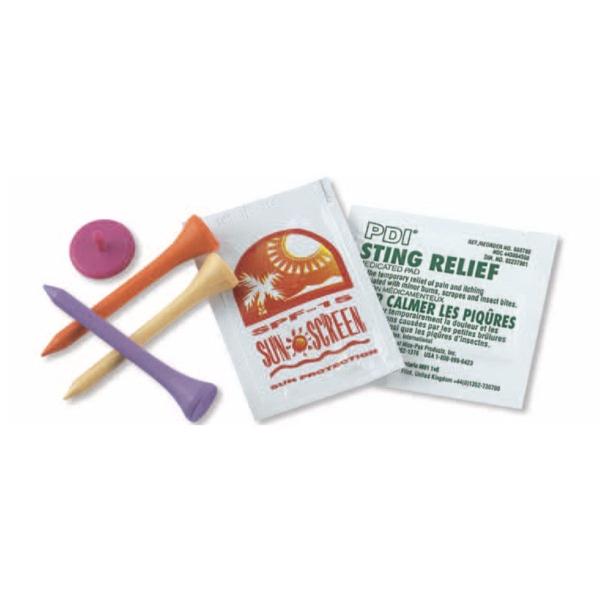 Pro golfer's survival kit