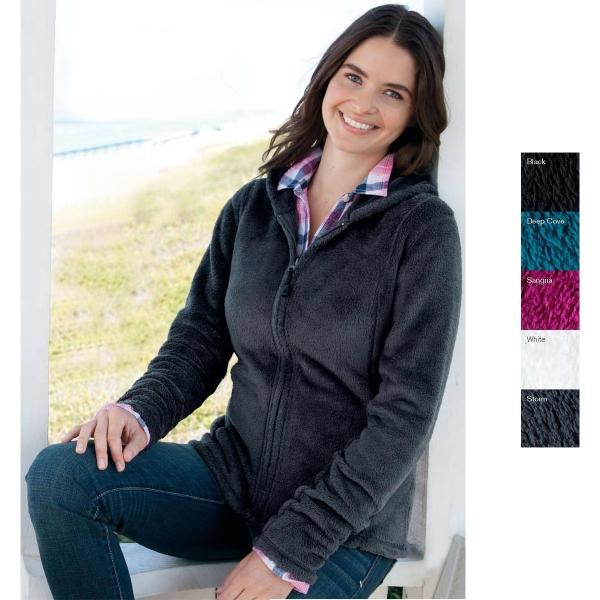 Colorado Clothing ladies plush fleece Aspen hooded full zip