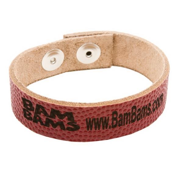 Football Sports Bracelet (Laser Etched)