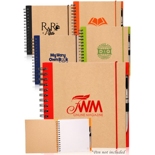 7.75 x 8 in. Recycled Square Notebook
