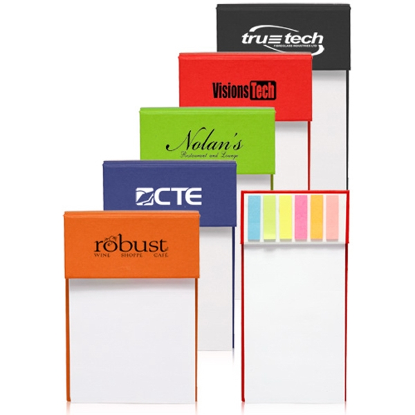Jotter Pad with Sticky Flags