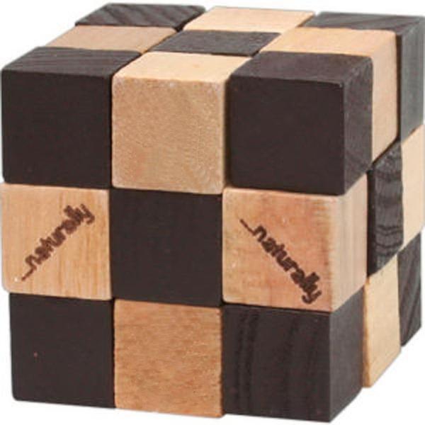 Wooden Elastic Cube Puzzle
