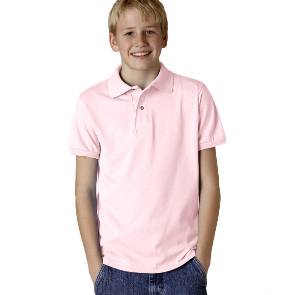 Jerzees Youth Jersey Polo With SpotShield(R)