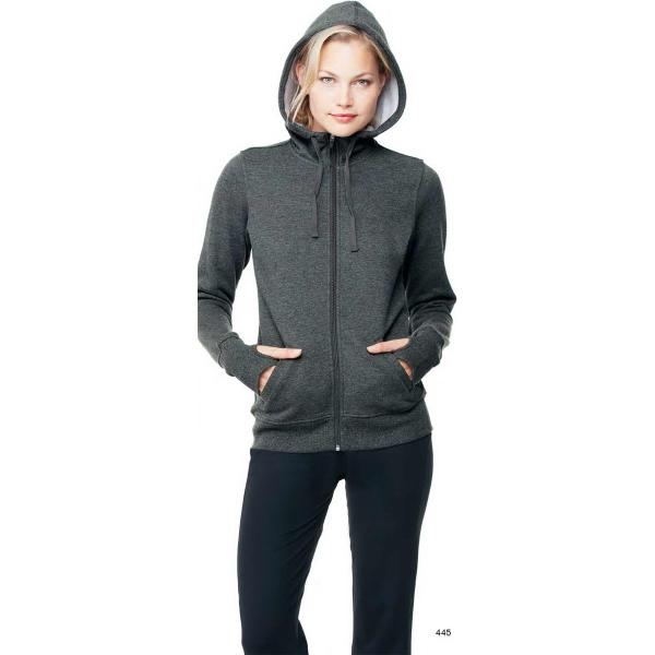 ALO (TM) Ladies performance fleece hooded pullover