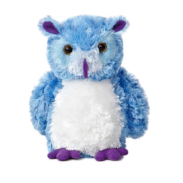 """8"""" Blue Hoots Owl"""