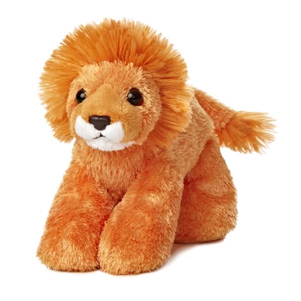 "8"" Orange Lionel Lion"