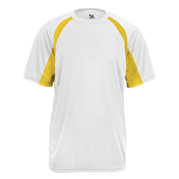 Badger Youth B-Core Two-Tone Hook Tee