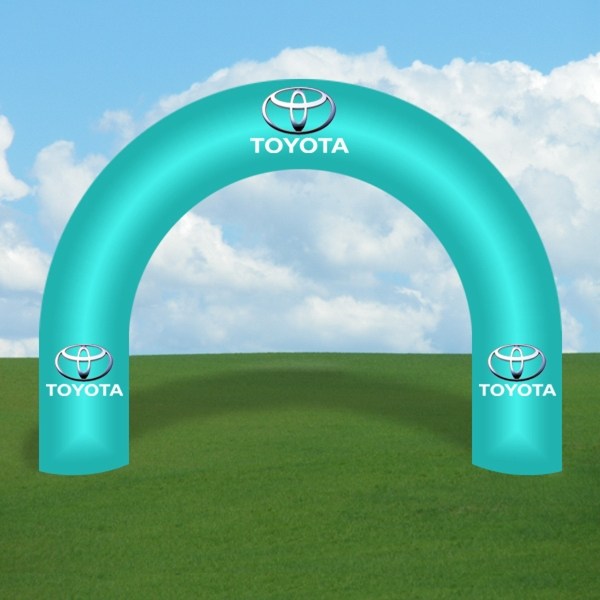 Inflatable Arch Display -Curved Full Digital Print