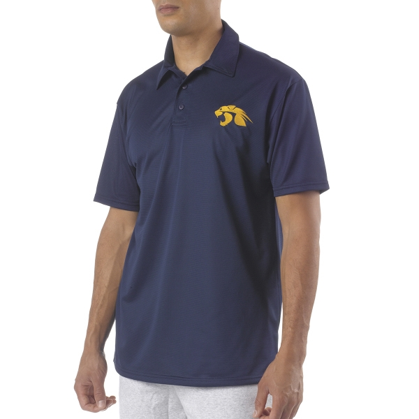 A4 Adult Circular-Knit Performance Polo