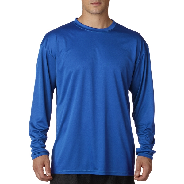 A4 Adult Cooling Performance Long Sleeve Crew Shirt
