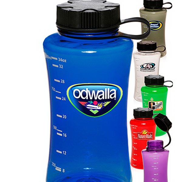 34 oz. Plastic Sports Bottles
