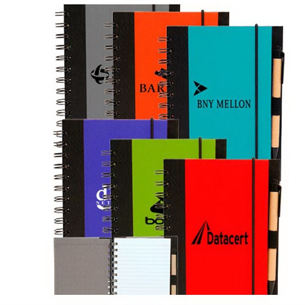 ECO Block Spiral Notebooks