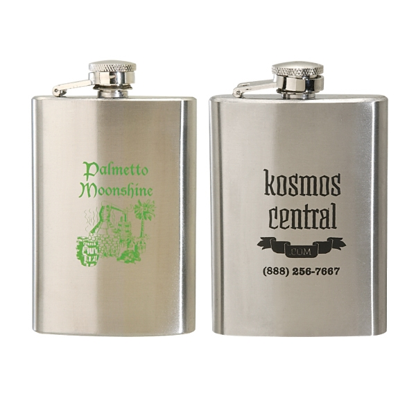 4 oz. Slim Stainless Steel Hip Flask