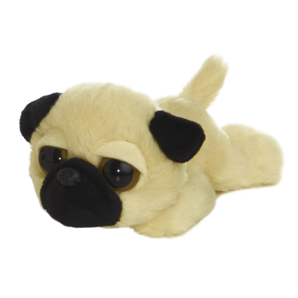 "6"" Dreamy Eyes Pug Dog"