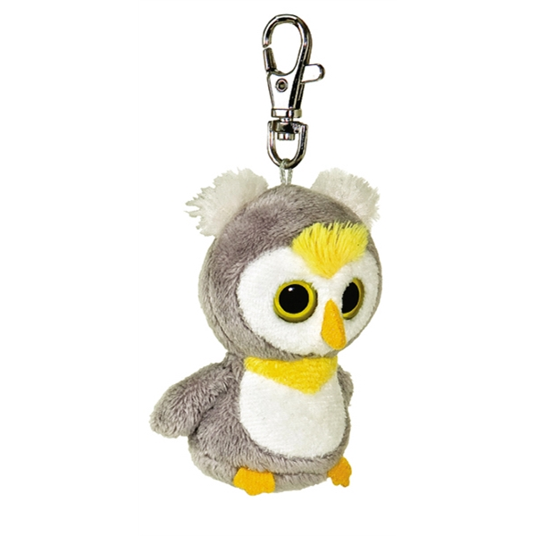 """3"""" Loonee Owl Keychain"""