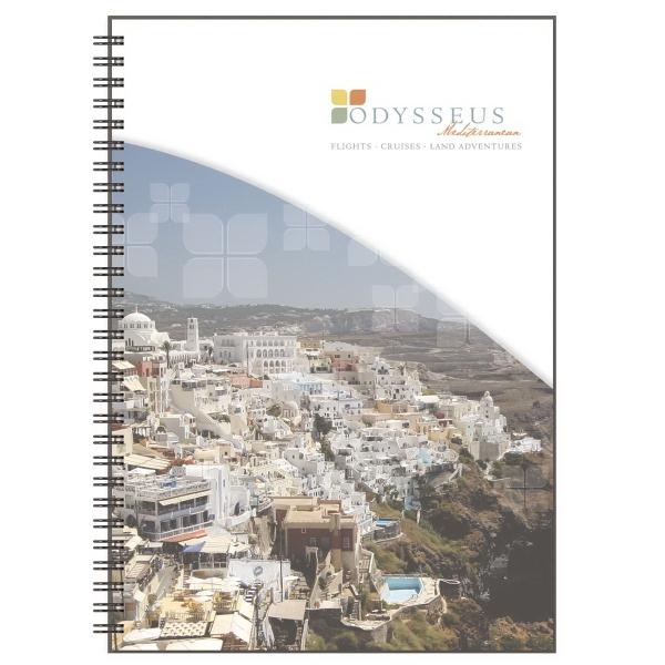 Clear View - Medium Note Book