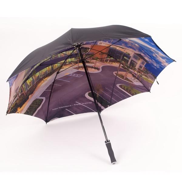 Double Cover Fiberglass Golf Umbrella