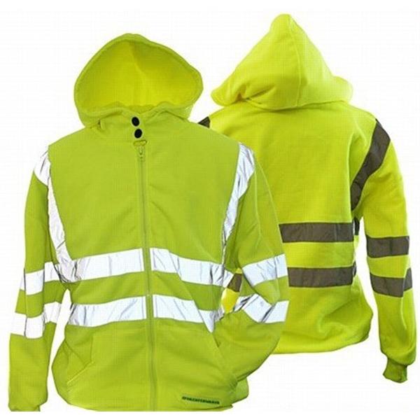 Forester® Hi-Vis Hooded Zippered Sweatshirt