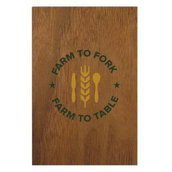 Wood Grain Flex Perfect Book™ - Jotter Pad