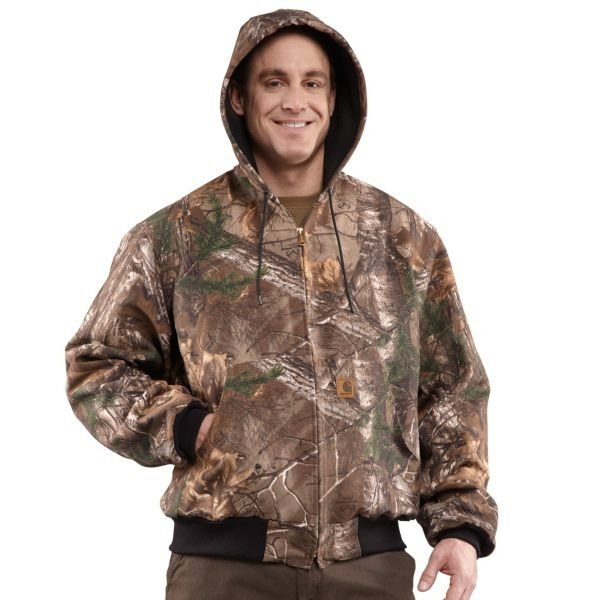 Men's Thermal Lined Camo Active Jacket