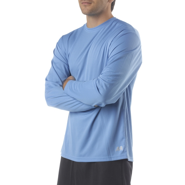 A4 Men's Textured Tech Long-Sleeve Tee