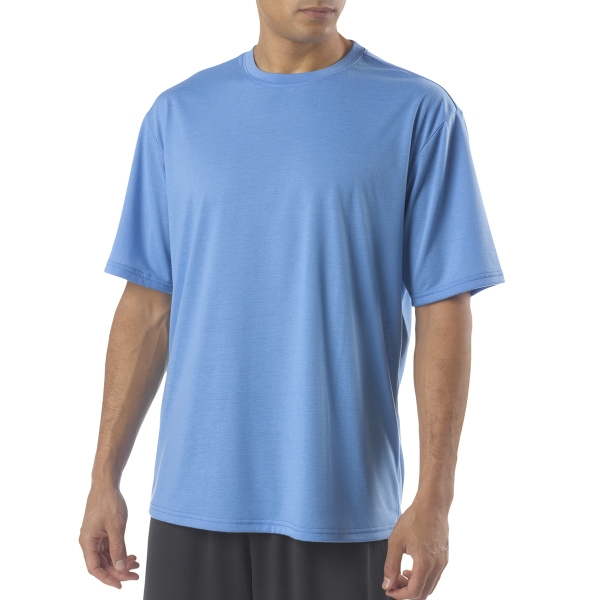 A4 Men's Poly Short-Sleeve Tee