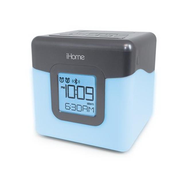 iHome Bluetooth Alarm Clock FM Radio Speaker System