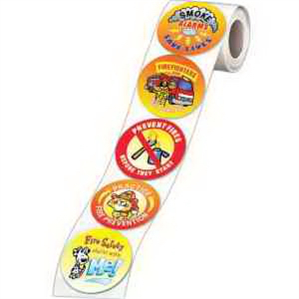 5-On-A-Roll Message Stickers
