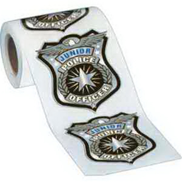 Badge Stickers-On-A-Roll