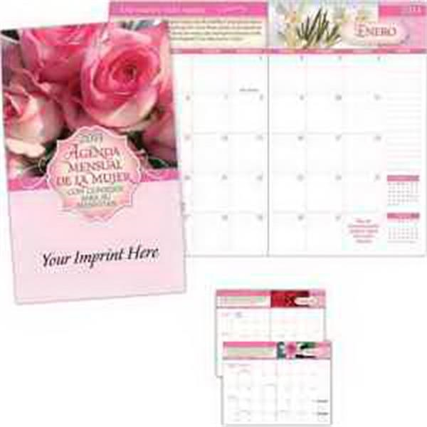 2014 Women's Monthly Planner with Wellness Tips -Spanish