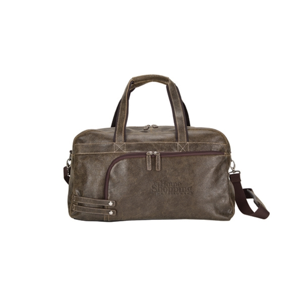 The Icon Leather Duffel