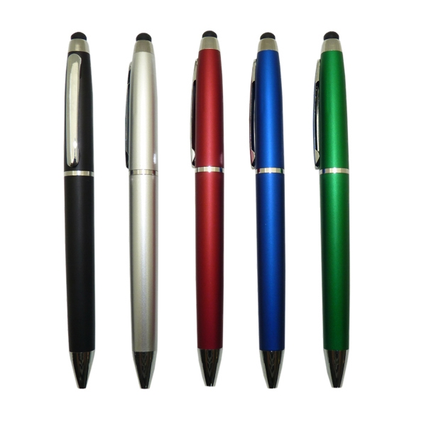 Plastic stylus pen