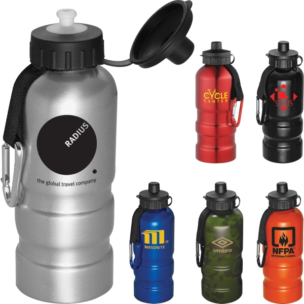 Sahara 20-oz Aluminum Sports Bottle