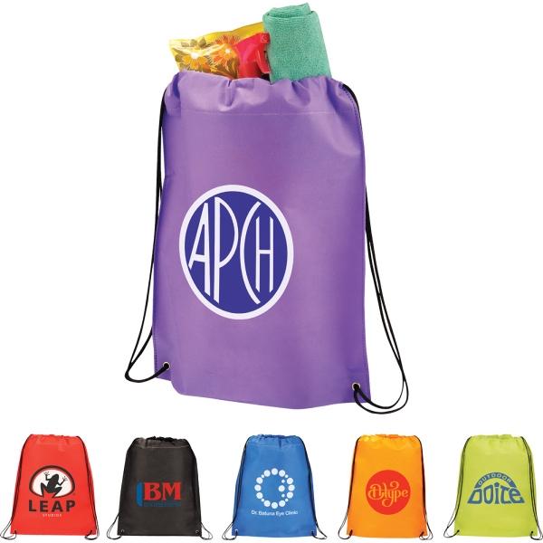 Large Heat Seal Drawstring Bag