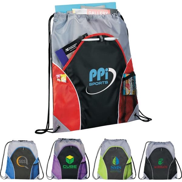 The Marathon Drawstring Cinch Backpack
