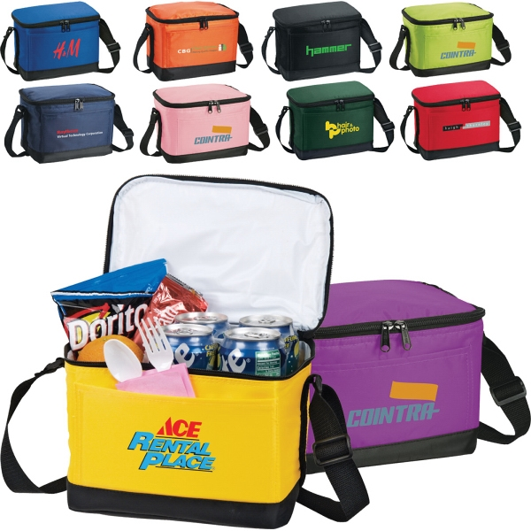 Out To Lunch 6-Pack Cooler Bag