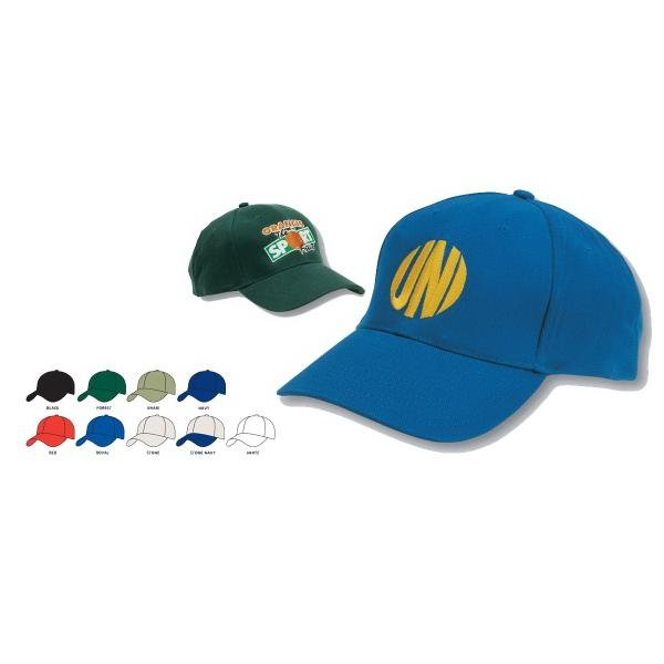 Brushed Heavy Cotton Baseball Cap