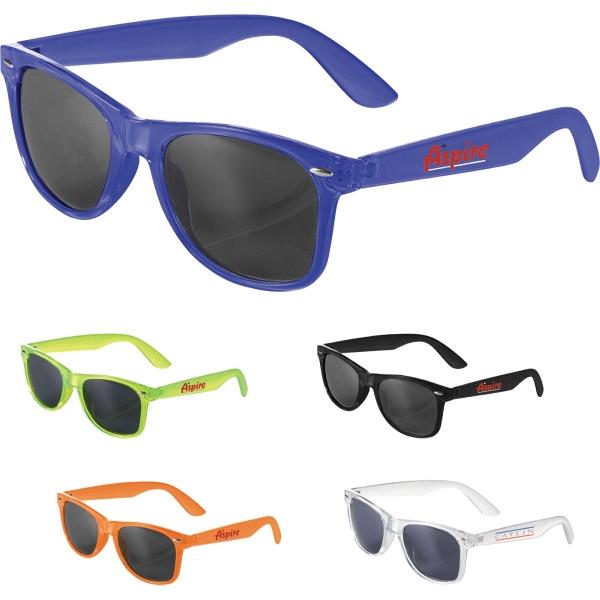 The Sun Ray Sunglasses - Crystal