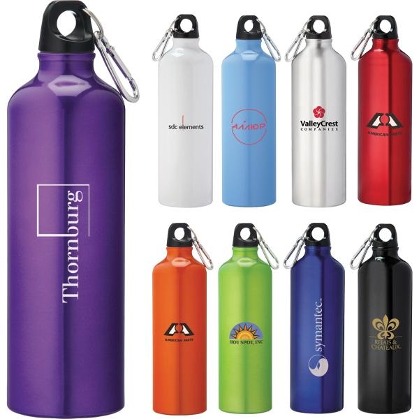 Pacific 26oz Aluminum Sports Bottle