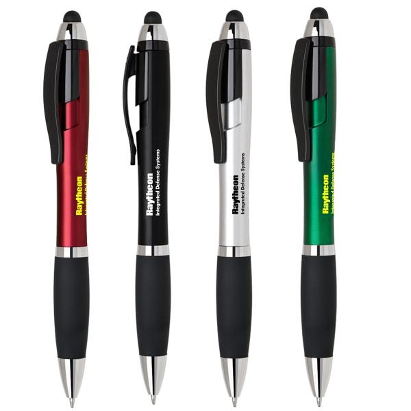 Claire click action pen w/ stylus
