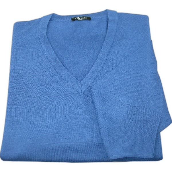 Marbas of Italy - Lago Long Sleeve Merino Wool Sweater