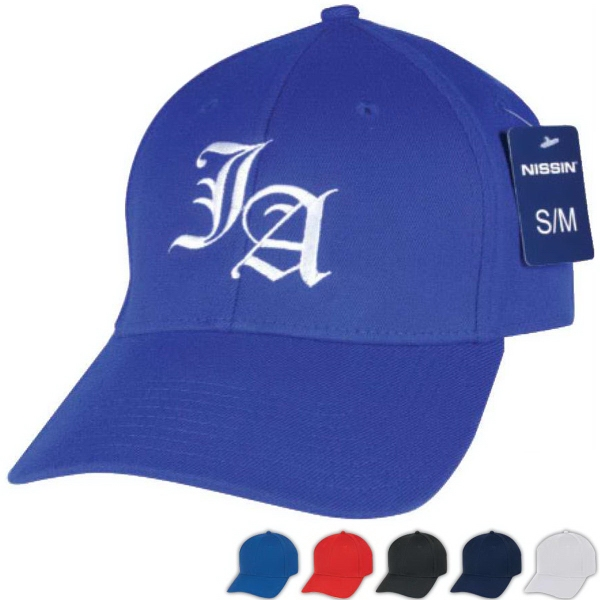 Low Crown (Constructed) Wool Blend Flexible Fit Cap